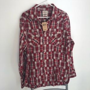Lucky Brand Shirts - *Closeout*Lucky Brand Plaid Shirt